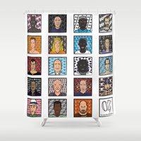 oz Shower Curtains featuring Oz - tv series characters  by newborn graphics