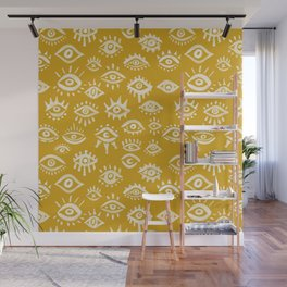 Mystic Eyes – Marigold Palette Wall Mural