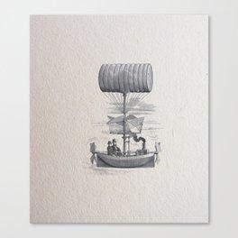 Airship Canvas Print
