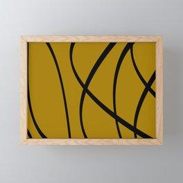 Strokes I Framed Mini Art Print