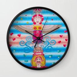 Indiam American Totem Wall Clock