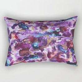 """""""Spilled Cabernet"""" Rectangular Pillow"""