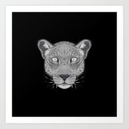 Icons of Africa - Leopard Art Print