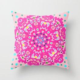 poka  Throw Pillow