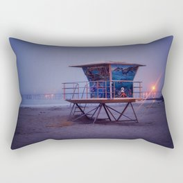 The Blue Hour at Avila Beach Rectangular Pillow