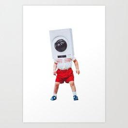 machine boy Art Print