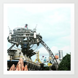 Tomorrowland Skyline Art Print