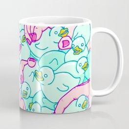 Rubber ducks pool Coffee Mug