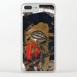 Dreamscape 37 Clear iPhone Case