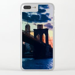 Sunsets of New York Clear iPhone Case