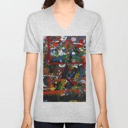 Painted sheet Unisex V-Neck