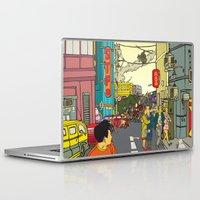 clockwork Laptop & iPad Skins featuring Clockwork by Marra