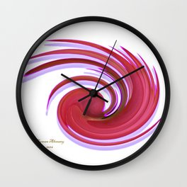 The whirl of life, 1.2A Wall Clock
