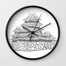 The Black Castle  Wall Clock