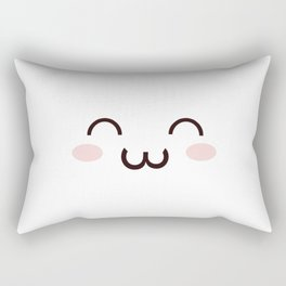 Cute Kawaii Emotion :3 (Check Out The Mugs!) Rectangular Pillow