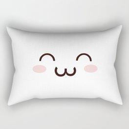 Cute Kawaii Emotion :3 (Check Out The Mugs!) Rectangular Pillow