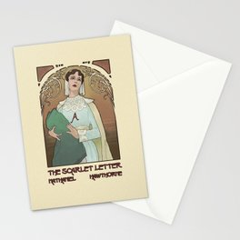 Mock Cover - The Scarlet Letter Stationery Cards