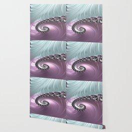 Pink Swirl Wallpaper