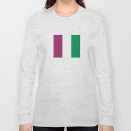 Flag of the suffragettes Long Sleeve T-shirt