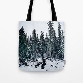 Dusting of Snow Tote Bag