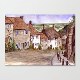Golden Hill, Shaftesbury Canvas Print