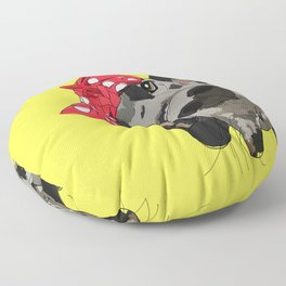Political Pups - When We All Vote Great Dane Floor Pillow