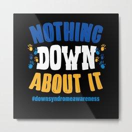 Down Syndrome Metal Print