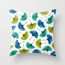 Ginkgo Flush Throw Pillow