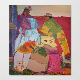 Happy Latin Ladies Canvas Print