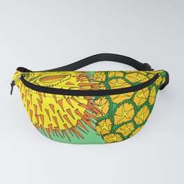 I'm Pining For You! Pufferfish Loves Pineapple Fanny Pack