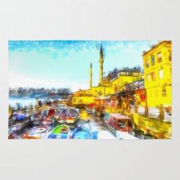 Istanbul Art Rug