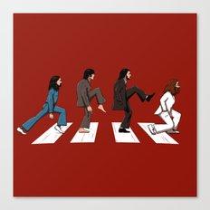 English walker Canvas Print