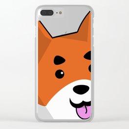 Moiraine the Shiba Clear iPhone Case