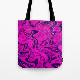 Trendy Marble Pattern in Pink, Purple, Ultra Violet, Pantone Color of the Year 2018 Tote Bag