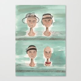 Dead Wives Canvas Print