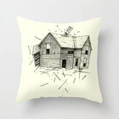 home blown Throw Pillow