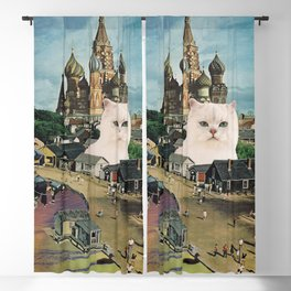 Giant Cat Blackout Curtain