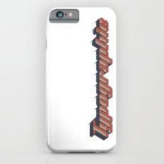 Typographie Slim Case iPhone 6s