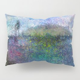 The Hill - Abstract Modern colourful Pillow Sham