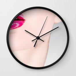 Lip Lip Wall Clock