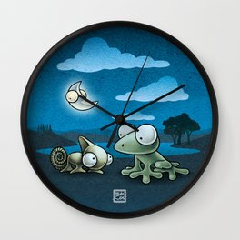 Once i was a prince! Wall Clock