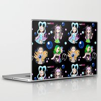 artrave Laptop & iPad Skins featuring #artRAVE Pattern by Aldo Monster