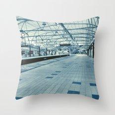 LRT Station  Throw Pillow