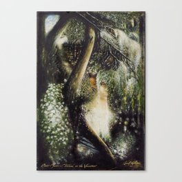 River Muses...Childhood on the Waccamaw Canvas Print