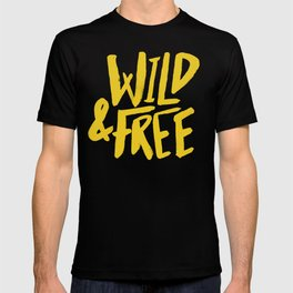 Wild and Free - Sunshine T-shirt