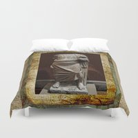 greece Duvet Covers featuring Greece  by Saundra Myles