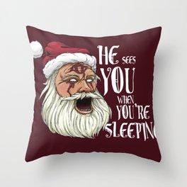 The Big Sleep Throw Pillow