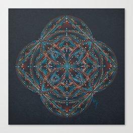 Sedona Votex Mandala Canvas Print