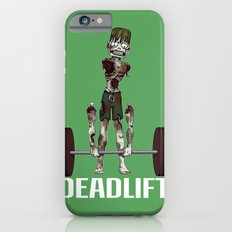 Crossfit Zombie by RonkyTonk doing Deadlift iPhone 6s Slim Case
