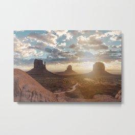 Monument Valley Sunrise - 22/365 Metal Print